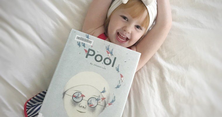 """Pool"" by Jihyean Lee: Favorite Toddler Swimsuits"