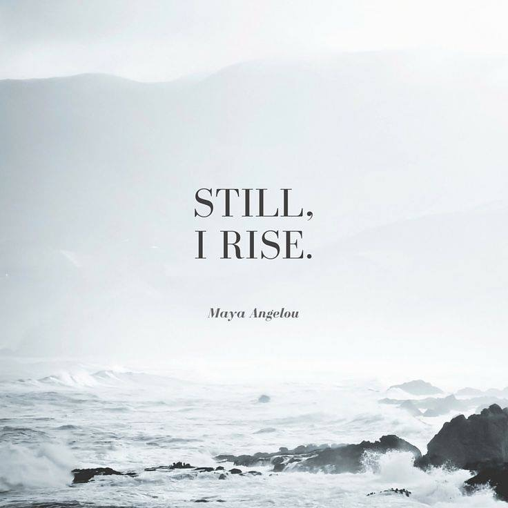 This graphic was my word of the year, my word for 2018. I had NO idea just how much it would matter now. Though that coastline picture isn't ours, still, the message is the same. We *WILL* rise.