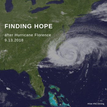 Finding Hope after a Natural Disaster (Hurricane Florence Hope Meditation)