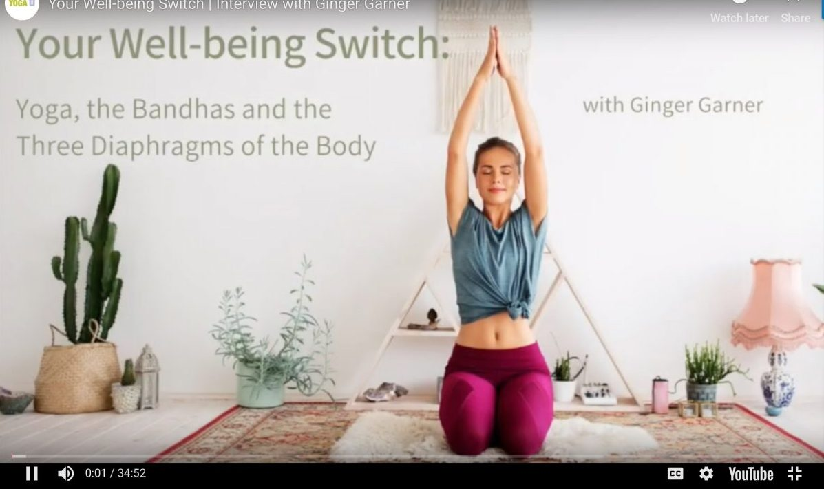 Your Well-Being Switch: What are the Three Diaphragms and How the Voice Can Reveal Your Health | Yoga U Online