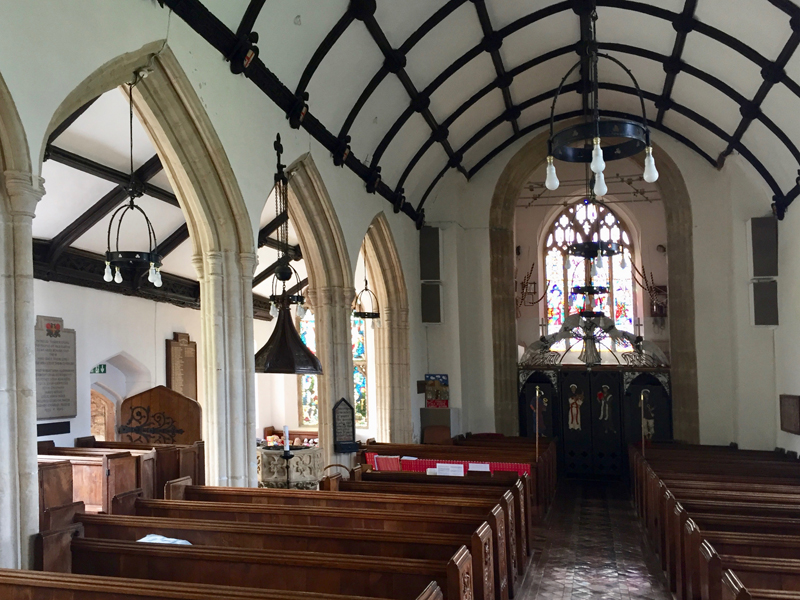 st andrews church old cleeve