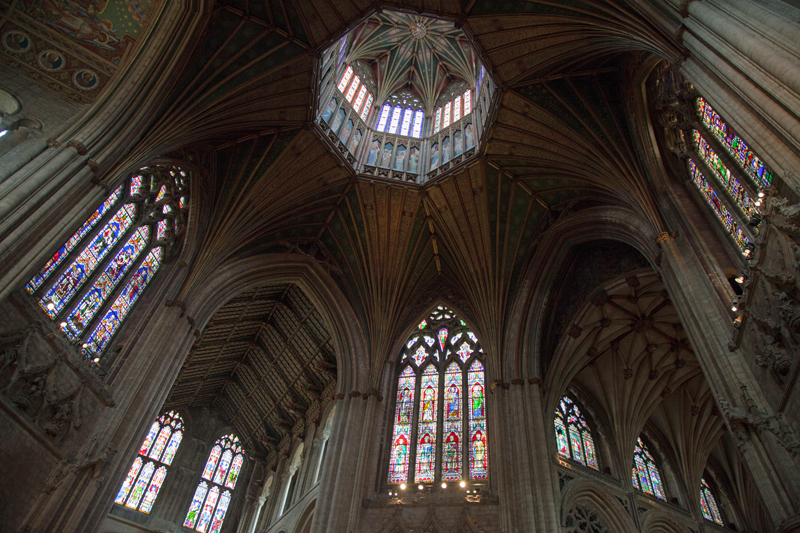ely cathedral octagon tower