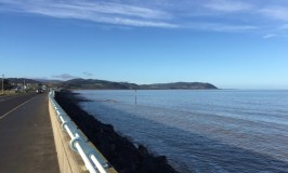 Blue Anchor Bay on a sunny day