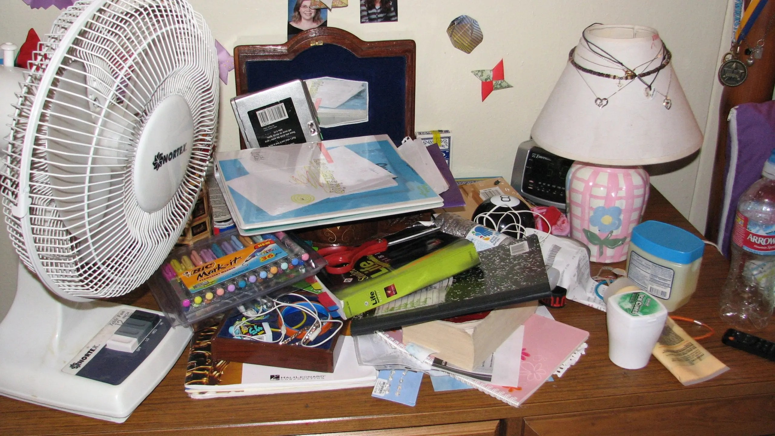 The Messy Desk  Ginger Harrington