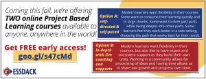 Project Based Learning, PBL, Online learning
