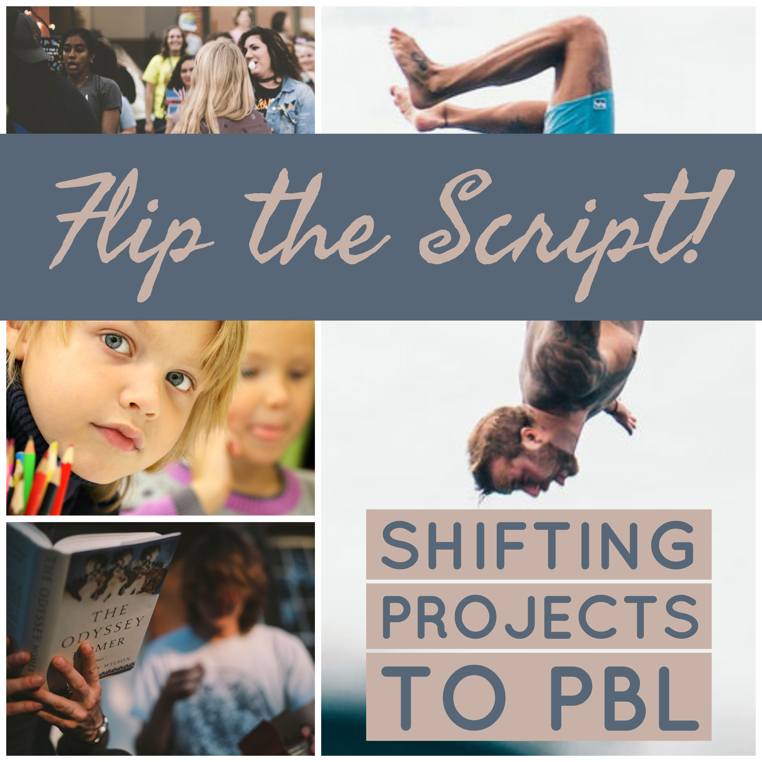 Shifting Our Projects to PBL