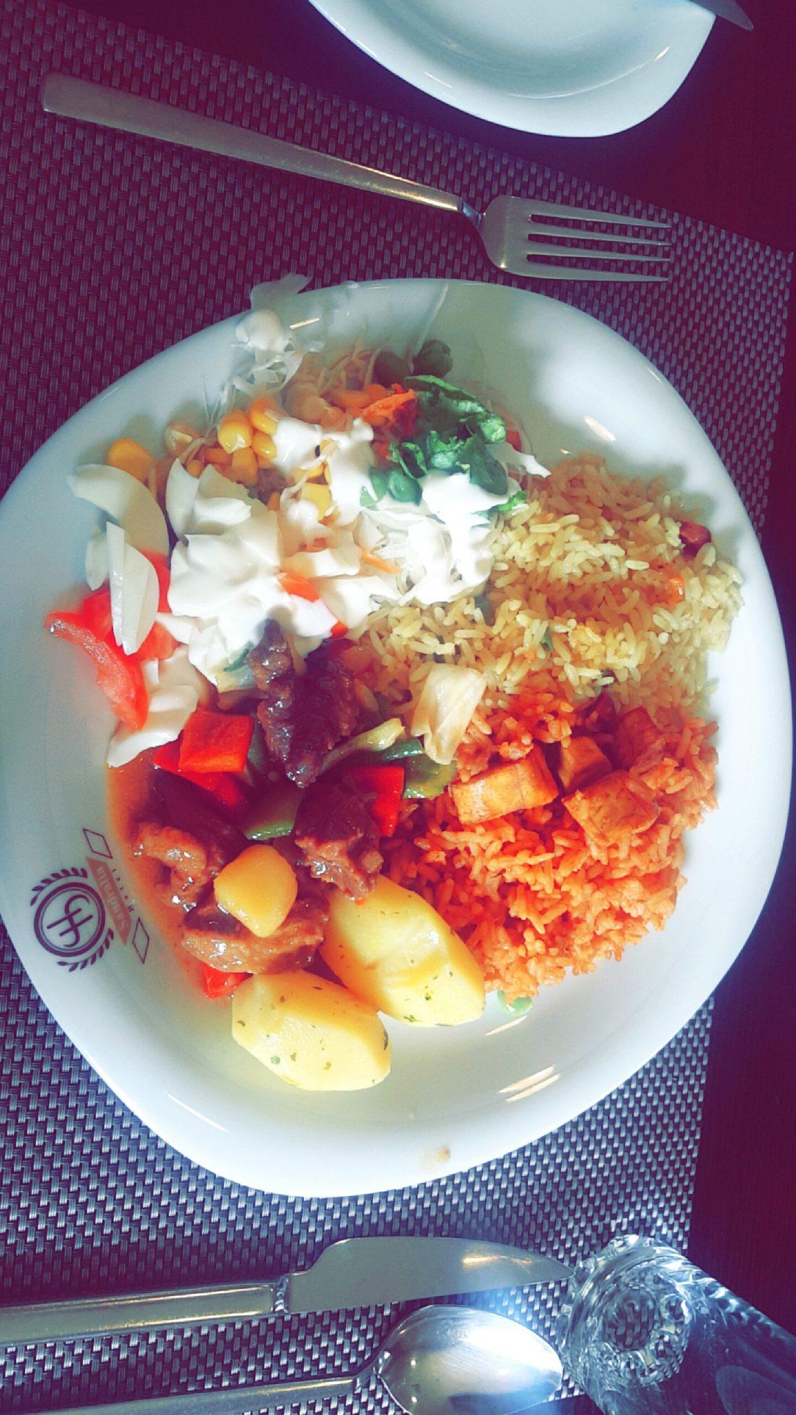 Lunch at Sandralia hotel