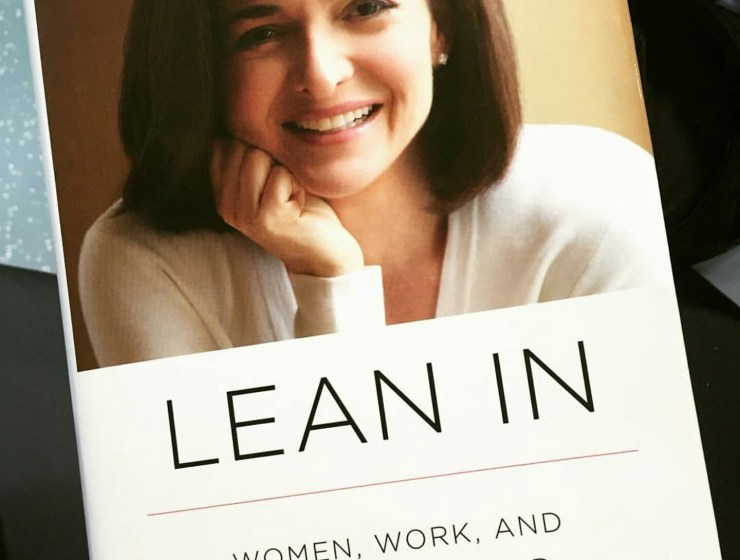 Lean In by Sheryl Sandberg