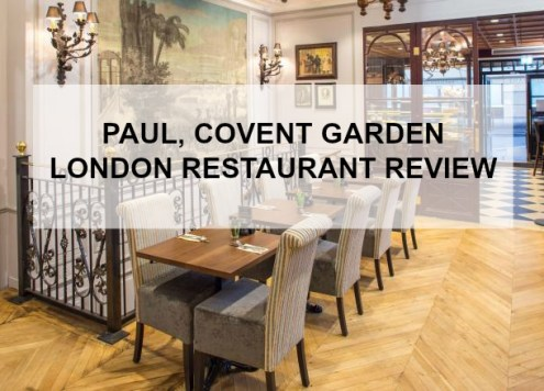 PAUL COVENT GARDEN A RESTAURANT REVIEW