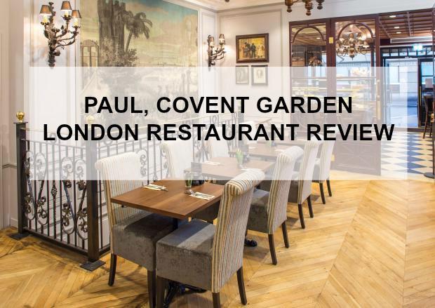 PAUL COVENT GARDEN A RESTAURANT REVIEW