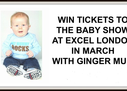 Win Tickets to the babay show with ginger Mum