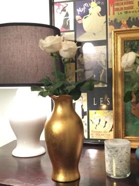 Braum Bros Goldleaf Vase $33