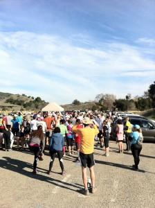 Malibu Creek 10k Start Line