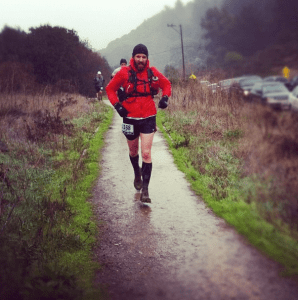 Running in to Tennessee Valley Aid Station