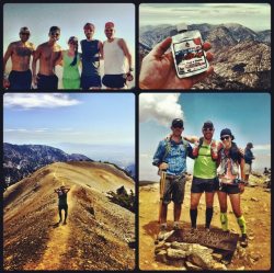 Summit of Baldy w/ Friends and Nut Butter!