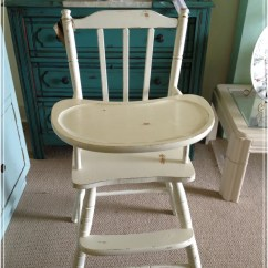 High Chairs On Sale Oversized Sleeper Chair And Ottoman Vintage Wooden Baby Ginger 39s Attic