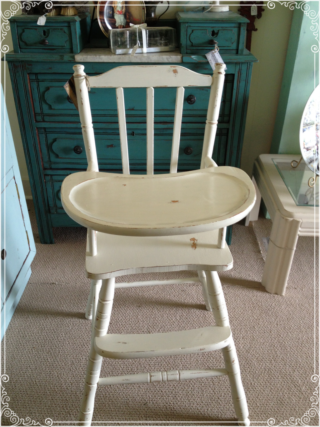 wooden high chairs for babies table chair covers weddings vintage baby ginger 39s attic