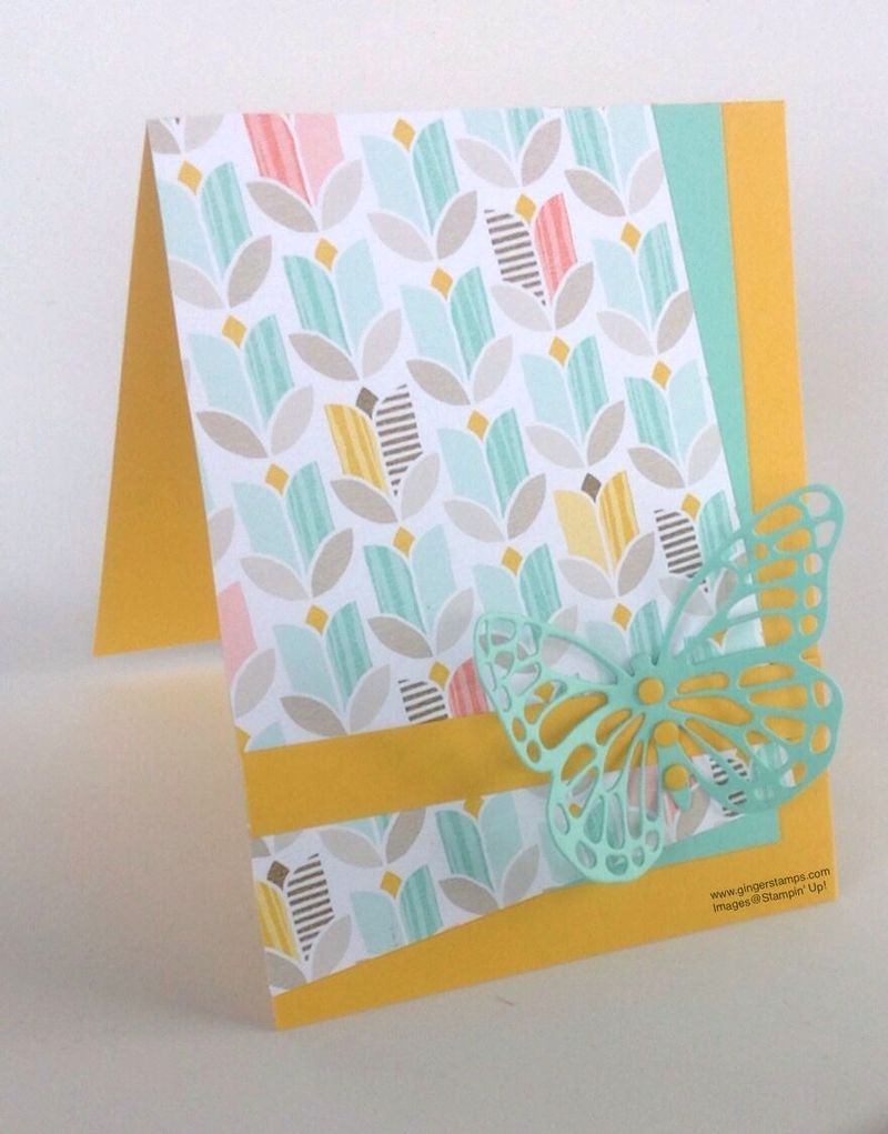 A Ginger Snap!  Simply Butterflies and the Best Year Ever Paper!