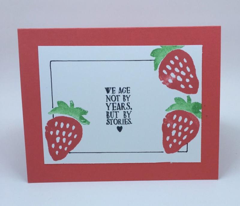 Strawberry inside