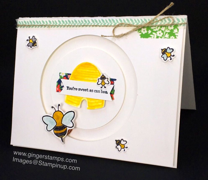 A Ginger Snap! Bees a Buzz!