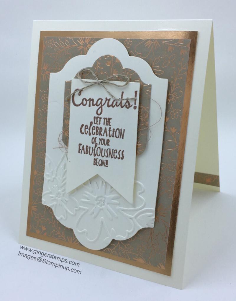 A Ginger Snap! More Congrats!