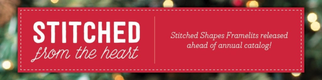 A Ginger Snap! NEW! Stitched Shapes Framelits & Save 25%!