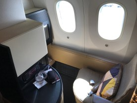 Etihad 787-9 Business Studio seat