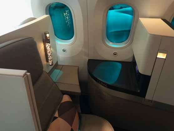 Etihad 787-9 Business Studio