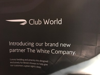 New Club World White Company partnership
