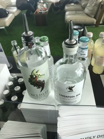 Liverpool Gin in the British Airways Galleries First lounge