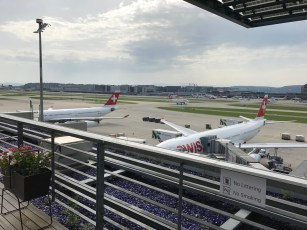 More Swiss A330-300 aircraft in Zurich