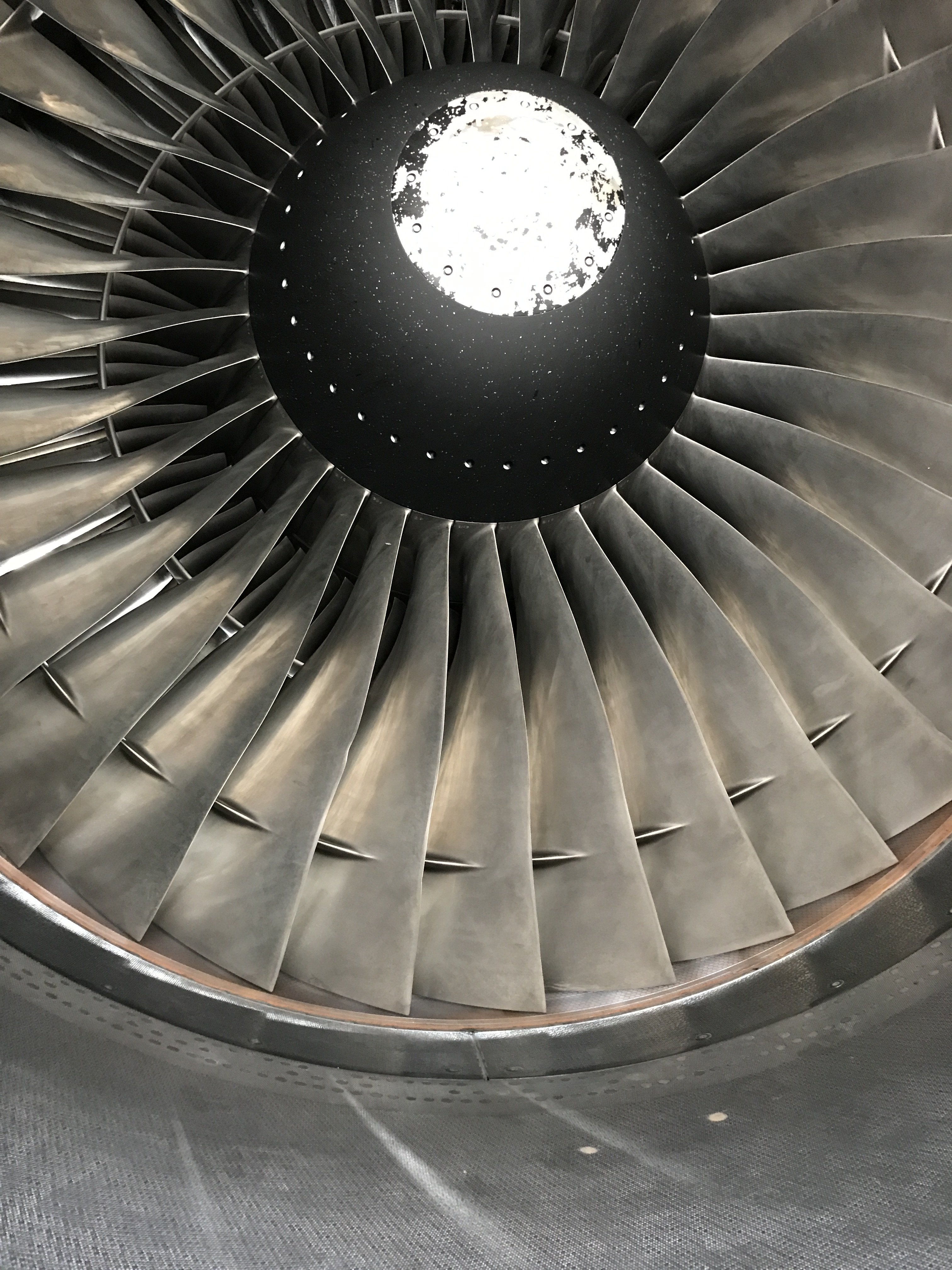 General Electric CF6 on an A330