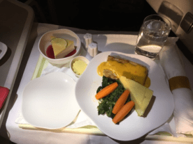 Vietnam Airlines business class main course