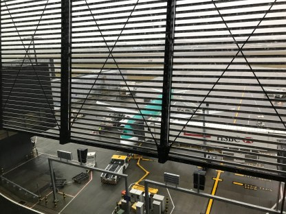Lufthansa Business Class lounge view