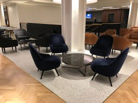 Qantas London Lounge seating area