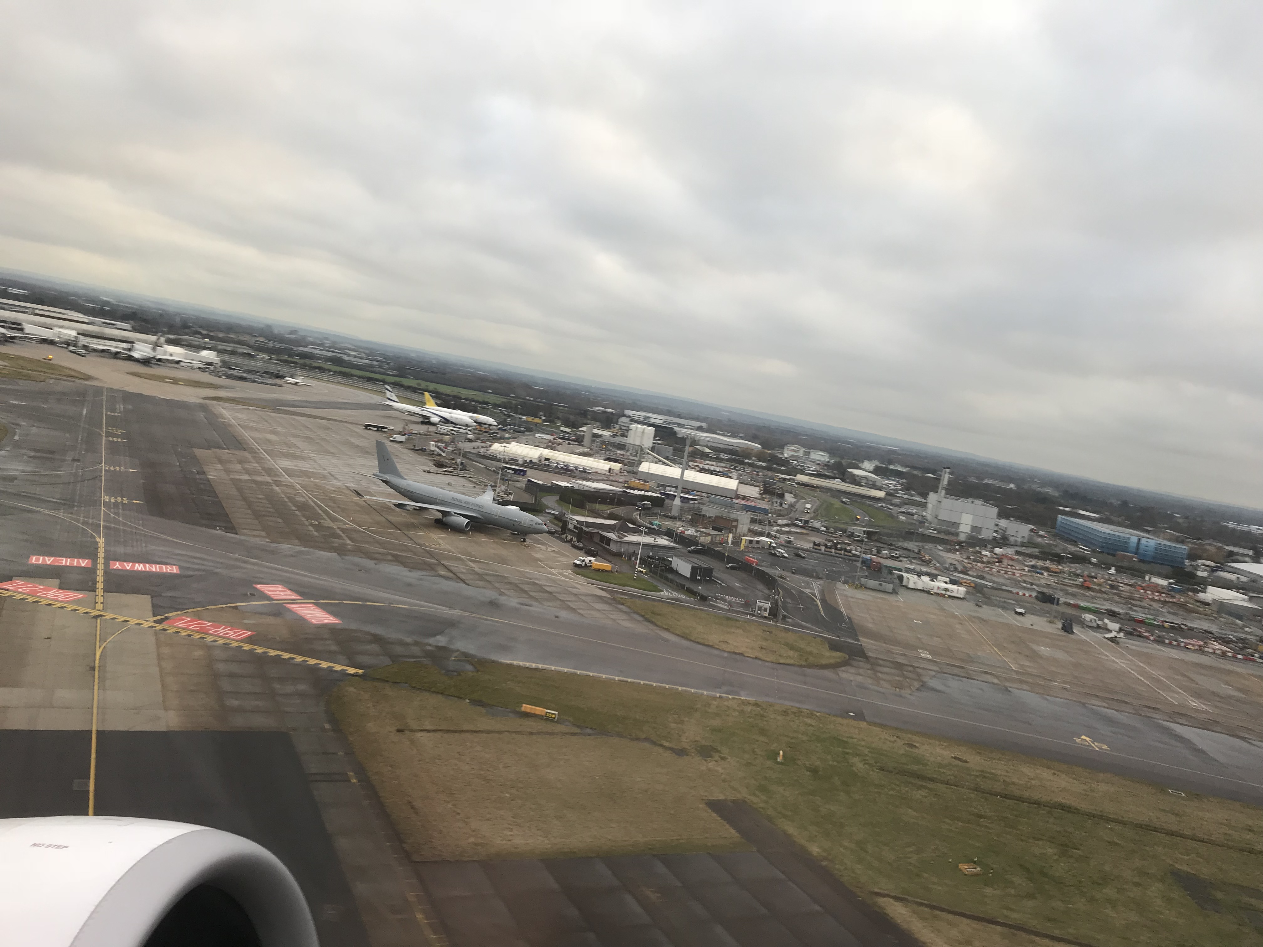 Take off from London Heathrow