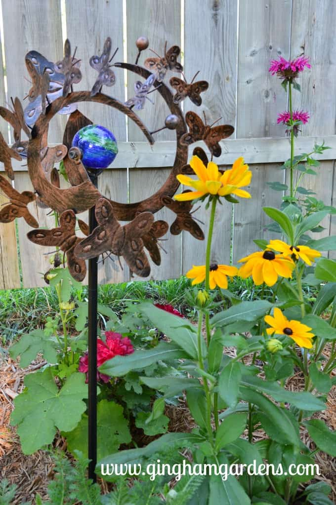 Perennial Garden Vignette at Gingham Gardens