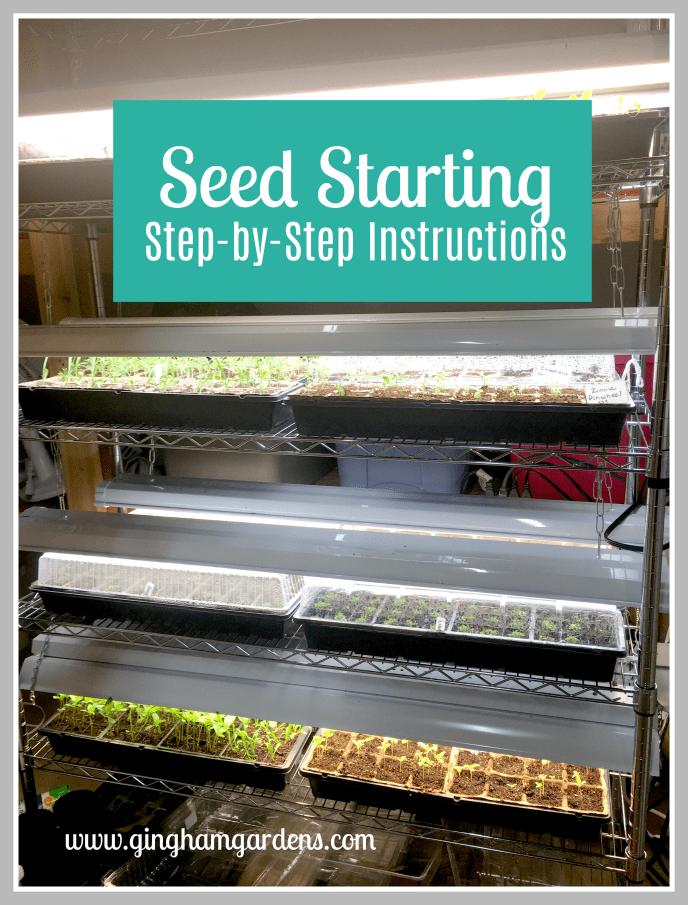 Seed Starting Indoors #gardening #plantpropagation #flowergardening #vegetabalegardening #growyourownfood