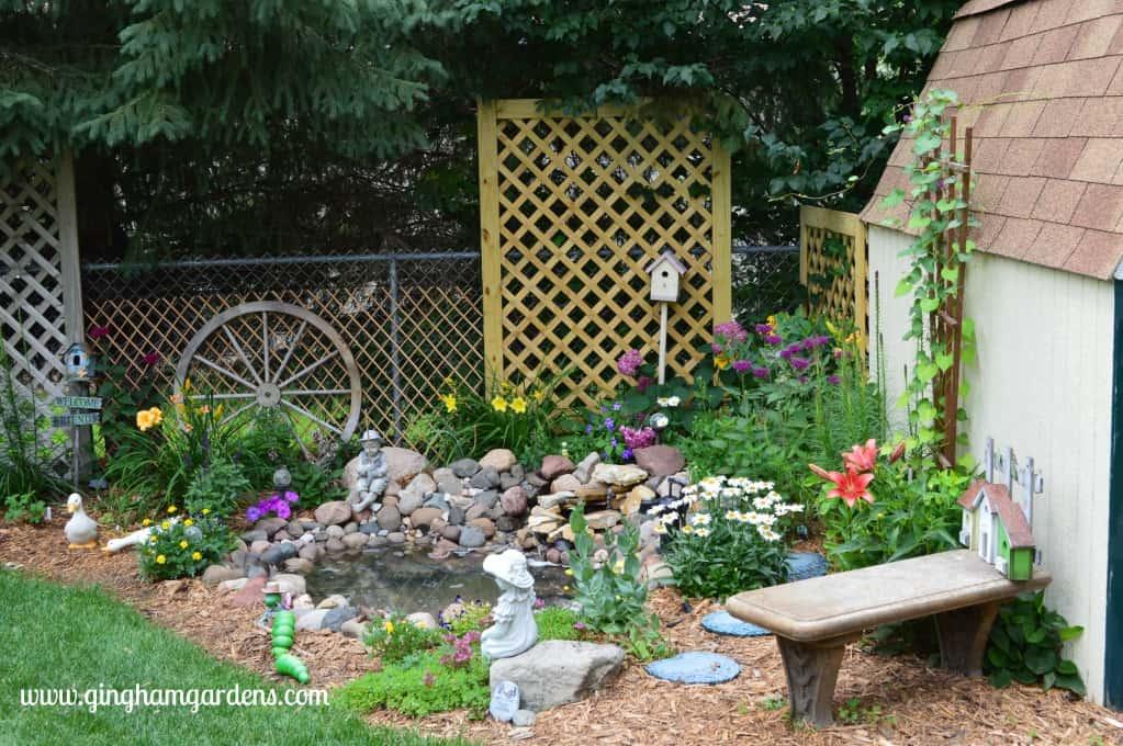 Minnesota Flower Gardens | Water Feature | Flower Gardening Ideas