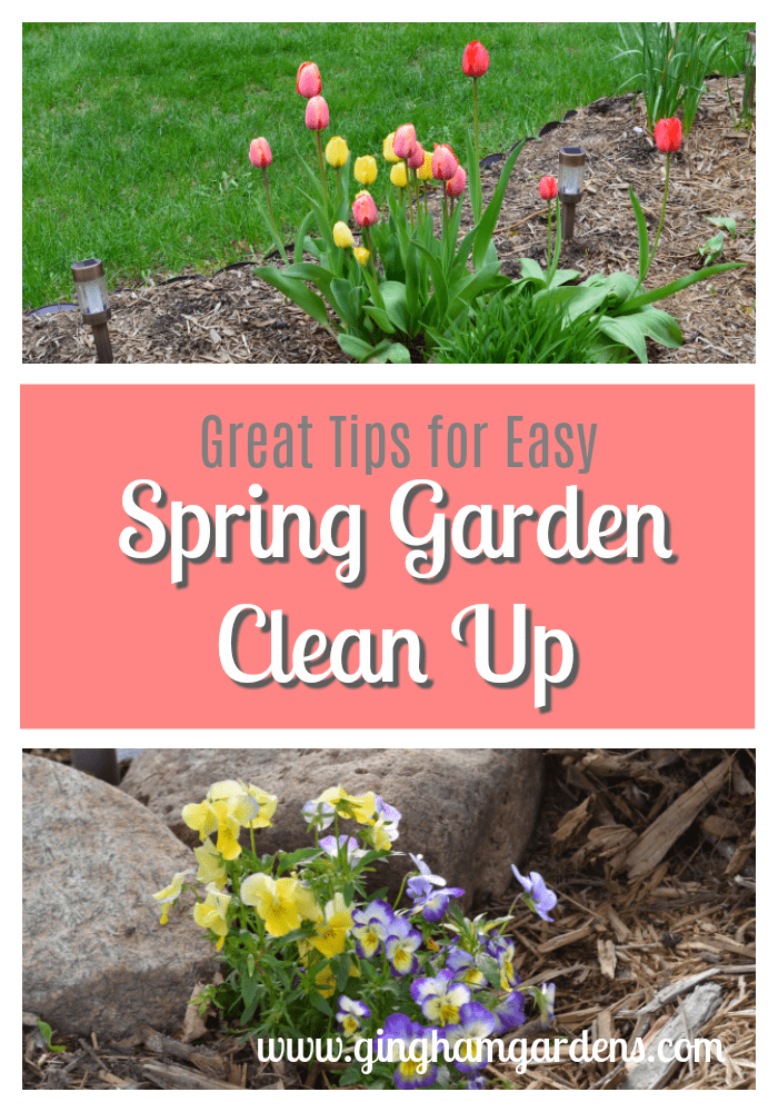Spring Flower Gardens   Great Tips For Easy Clean Up