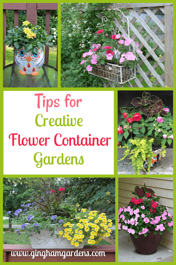 Tips for Creative Flower Container Gardens