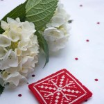 Red and White Needlepoint – Part 2