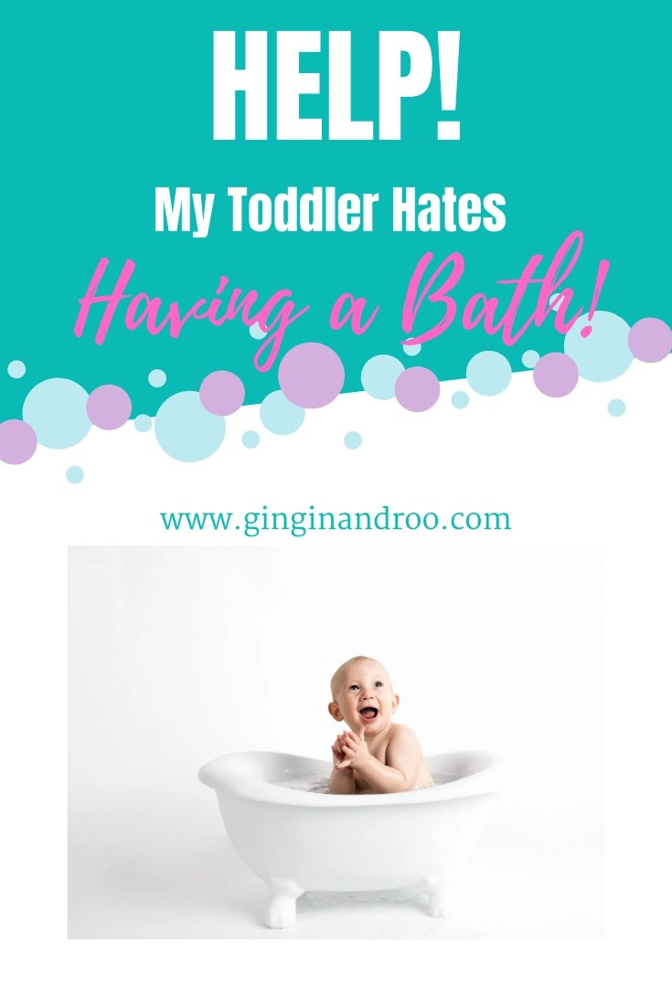 What should you do if your toddler hates having a bath? Reading this useful article discover how we're tackling this issue with our own little bath-hating-toddler.