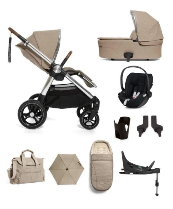 Mamas & Papas Ocarro Cloud Z 9 piece complete bundle travel system