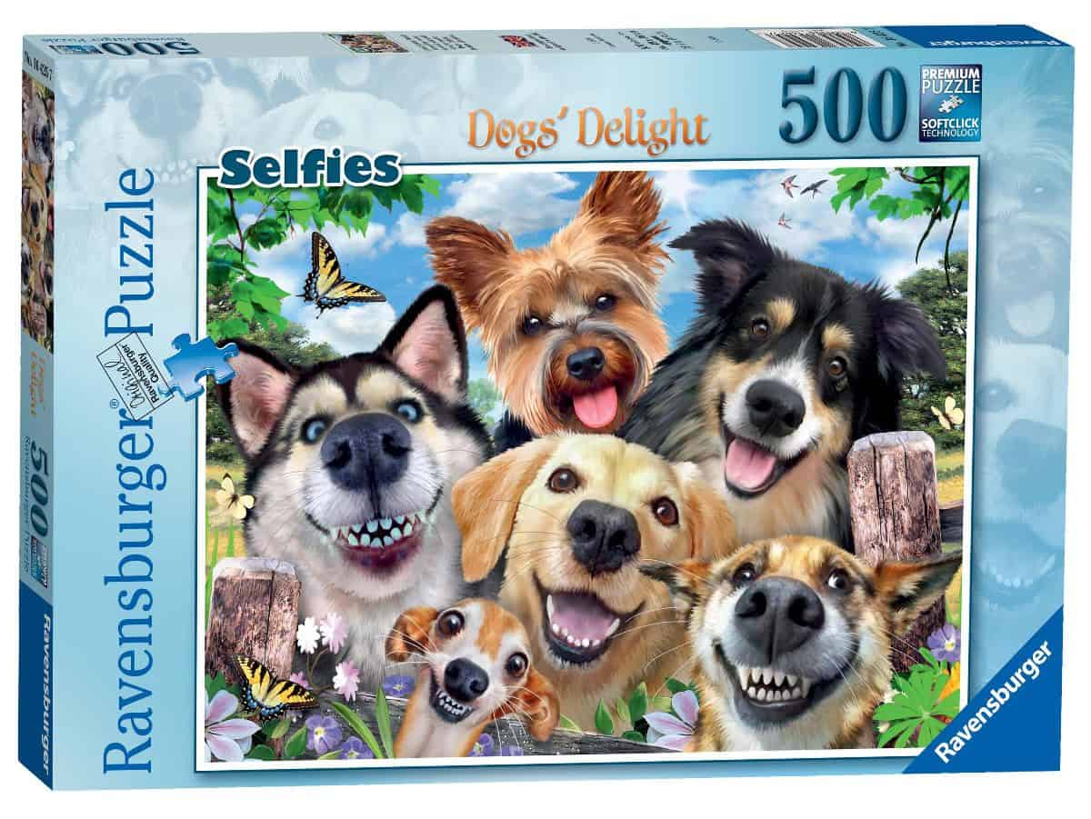 Dog's Delight 500 piece jigsaw puzzle from Ravensburger