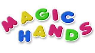 Children's TV programme Magic Hands logo