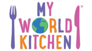 Children's TV show My World Kitchen logo