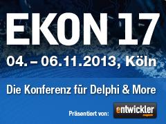 EKON 17 Banner