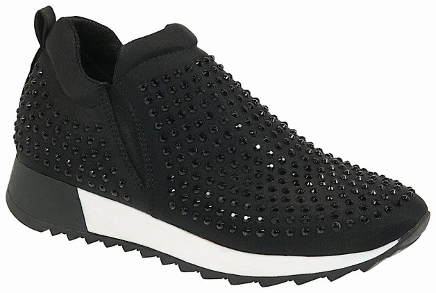 7f8ceff519d WALL STREET F1816606 X18 ΜΑΥΡΟ. Sneakers, Γυναικεία παπούτσια