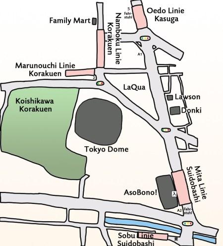 Asobono Anfahrt